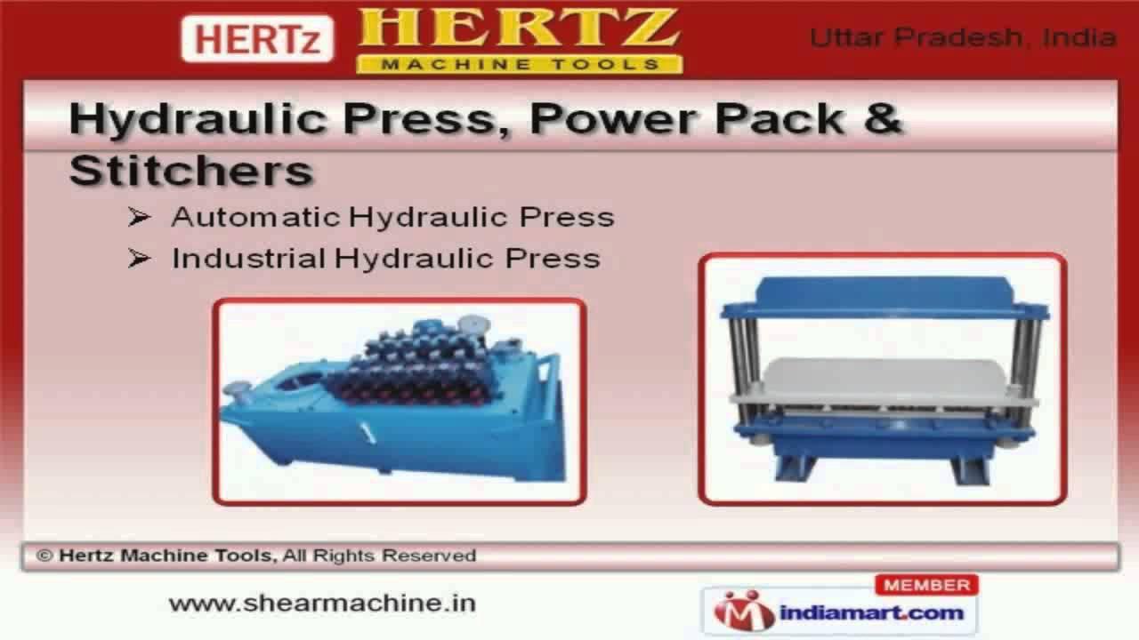 Hydraulic Shear Machine, Hydraulic & Pneumatic Machines