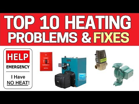 NO HEAT? Top 10 Heating Problems - Boiler / Furnace Troubleshooting OIL HEAT