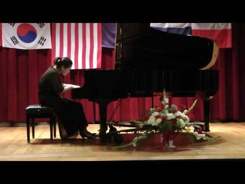 IV Chopin International Piano Competition, Hartford, CT - Sun-A Park, I Prize