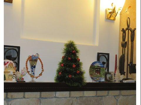 как сделать самому поделку новогоднюю елку  своими руками быстро и просто фото