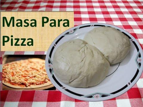 Como Hacer Masa Para Pizza Básica Y Fácil - Receta de Pizza Casera