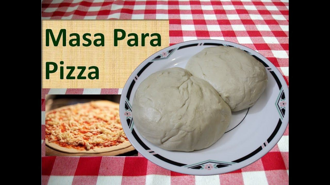 pizza con masa para bolillo