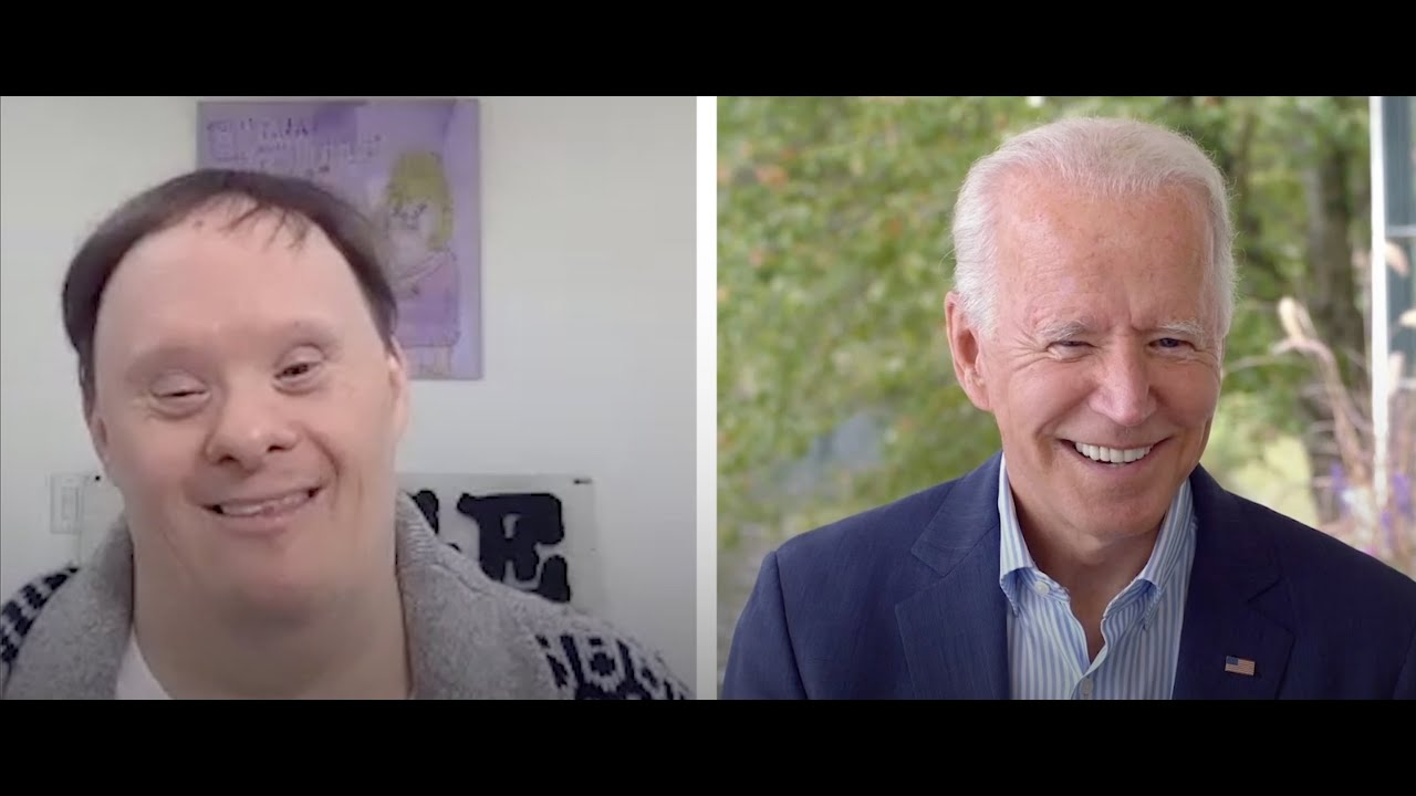 An Artist With Down Syndrome, A Bag, And Joe Biden: How A Man's Work Led To A Meeting With His Hero