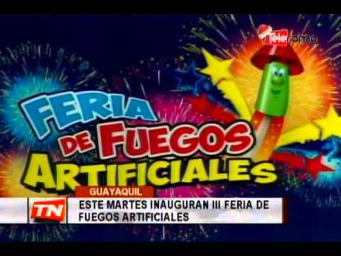Este martes inauguran III feria de fuegos artificiales