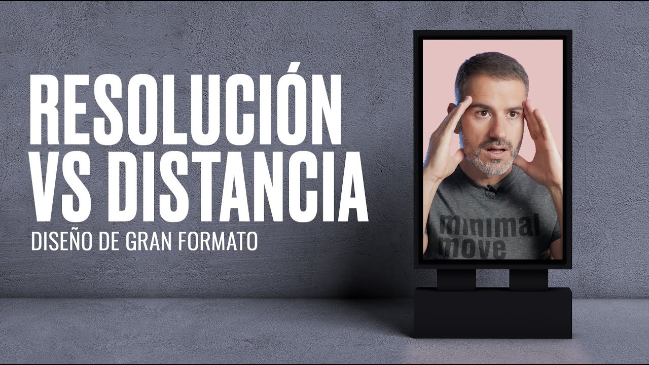 🤯Resoluciones, distancia y diseño en gran formato en Photoshop e Illustrator / M
