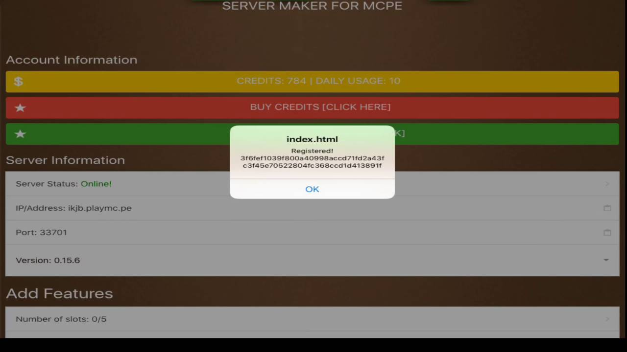 NEW MCPE Server Maker App for IOS AND ANDROID!!! - YouTube