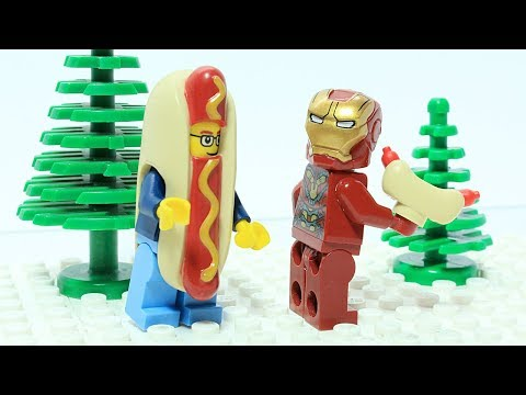 Lego Iron Man Funny Bricks and Pieces Superhero Animation