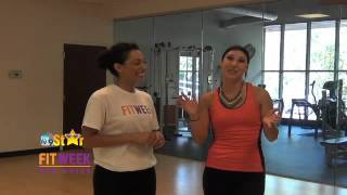 MyTV9 Star, Tulin, introduces FITWEEK