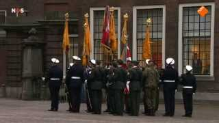 Uitreiking Militaire Willems-Orde Majoor Gijs Tuinman