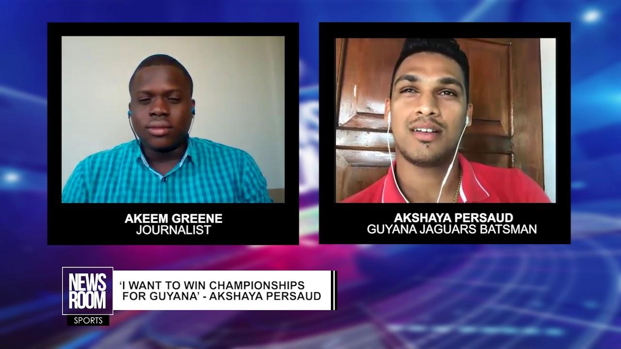 'I WANT TO WIN CHAMPIONSHIPS FOR GUYANA'   AKSHAYA PERSAUD