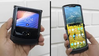 New Motorola Razr 5G Foldable Unboxing & Overview