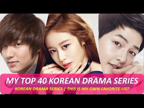 MY BEST KOREAN DRAMA SERIES OF ALL TIMES (TOP 40 LIST) ALL GENRE  PART -1