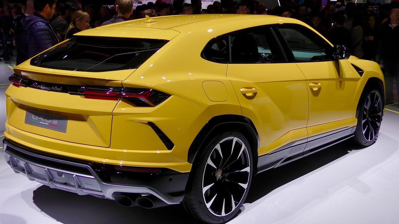 Yellow Lamborghini Urus Suv 4k Youtube