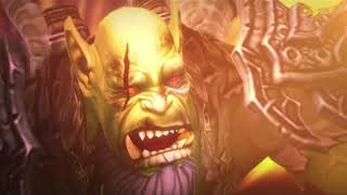 World of Warcraft liquidando a guldan por primera vez