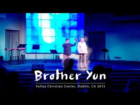 Brother Yun Preaches in Dublin, CA 2015