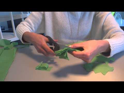 Tuto guirlande noel sapin fabriquer soi m me youtube - Comment faire une guirlande de noel en papier ...