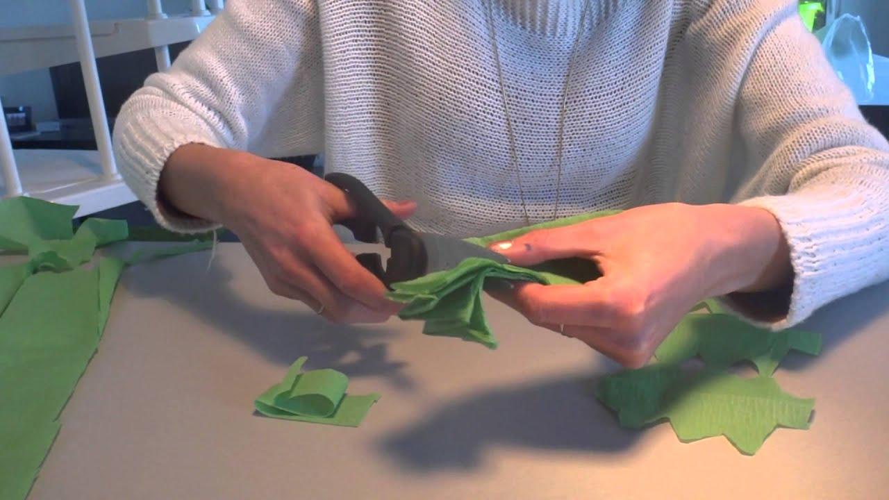 Guirlande De Noel : tuto guirlande noel sapin fabriquer soi m me youtube ~ Nature-et-papiers.com Idées de Décoration