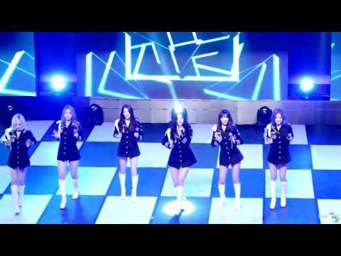 [직캠]151215 워너비(WANNA.B) 아미(AMI) - 전체 차렷 (Attention) / K-POP TV 공개방송 @성신여대 by DarkSniper