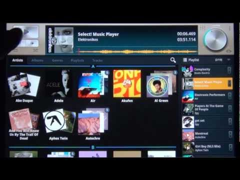 mikrosonic Select! Music Player for Android tablets