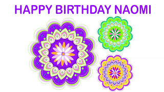 Naomi   Indian Designs - Happy Birthday