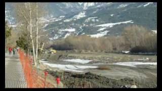 Travaux PublicEmbrun Creusement Chenal Navigation Hautes-Alpes