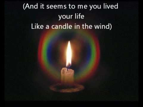 candle in the wind elton john lyrics traduzione italiano youtube. Black Bedroom Furniture Sets. Home Design Ideas