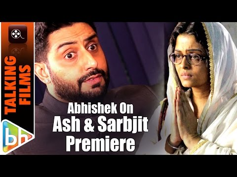 Abhishek Bachchan BREAKS Silence On Sensationalising of 'Sarbjit' Premiere incident