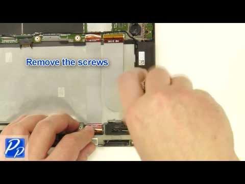 Dell Venue 11 Pro (5130) USB Circuit Board Replacement Video Tutorial Teardown