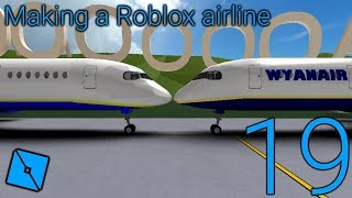 Making a Roblox airline: Episode 19 - Remaking the livery design for the A350 and self check in