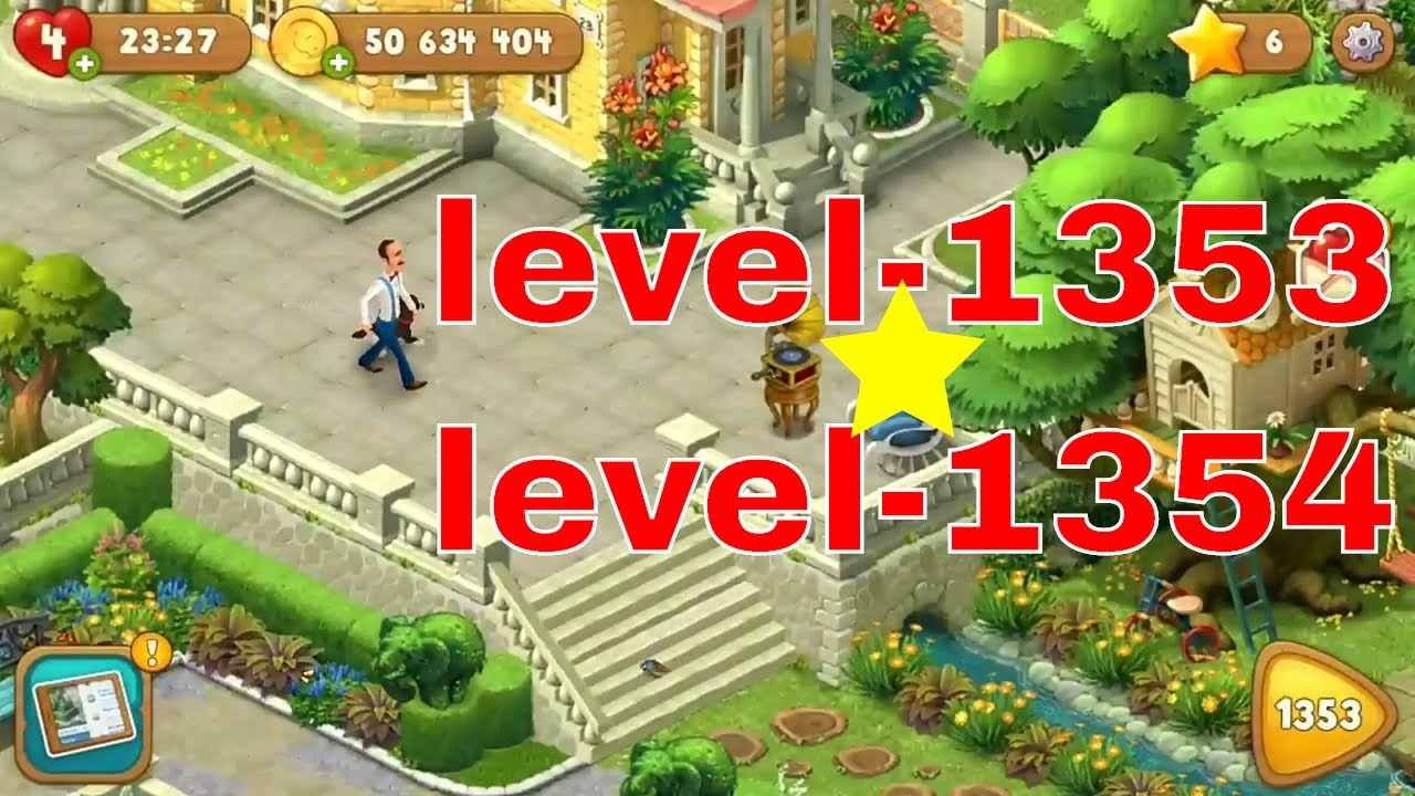 Gardenscapes Is A Garden Designing Free Android U0026 Ios Game/Gardenscapes  Best Level 1353 U0026 Level 1354
