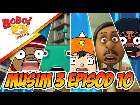BoBoiBoy Musim 3 Episod 10: Papa Zola & Mama Zila