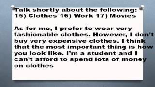 1000 английских топиков Часть 8 Clothes Work Movies одежда работа фильмы