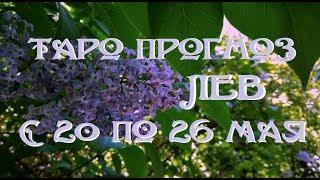 Лев. Таро прогноз на неделю с 20 по 26 мая 2019 г. Онлайн гадание.