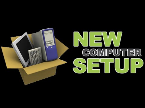 How To Setup A New Computer And Transfer Data From Old For Free