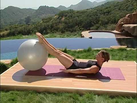 Pilates Home Workout using a Pilates Ball | Pilates Teacher Training and Pilates Certification