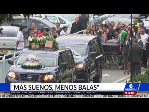 Miles de seguidores le dieron el último adiós a Legarda en Medellín