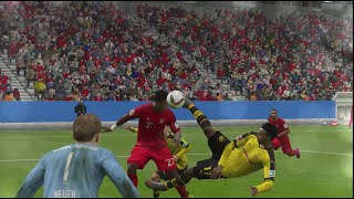PIERRE AUBAMEYANG | WHAT A GOAL | SLOW MOTION | FIFA 16 GAMEPLAY