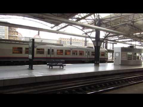 treinen op het station Brussel zuid 26