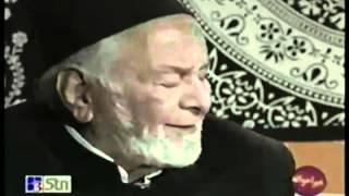 Mansoor Tabish recites Zameen o Zaman tumhare liye   Ye sab tumhara karam hai Aaqa