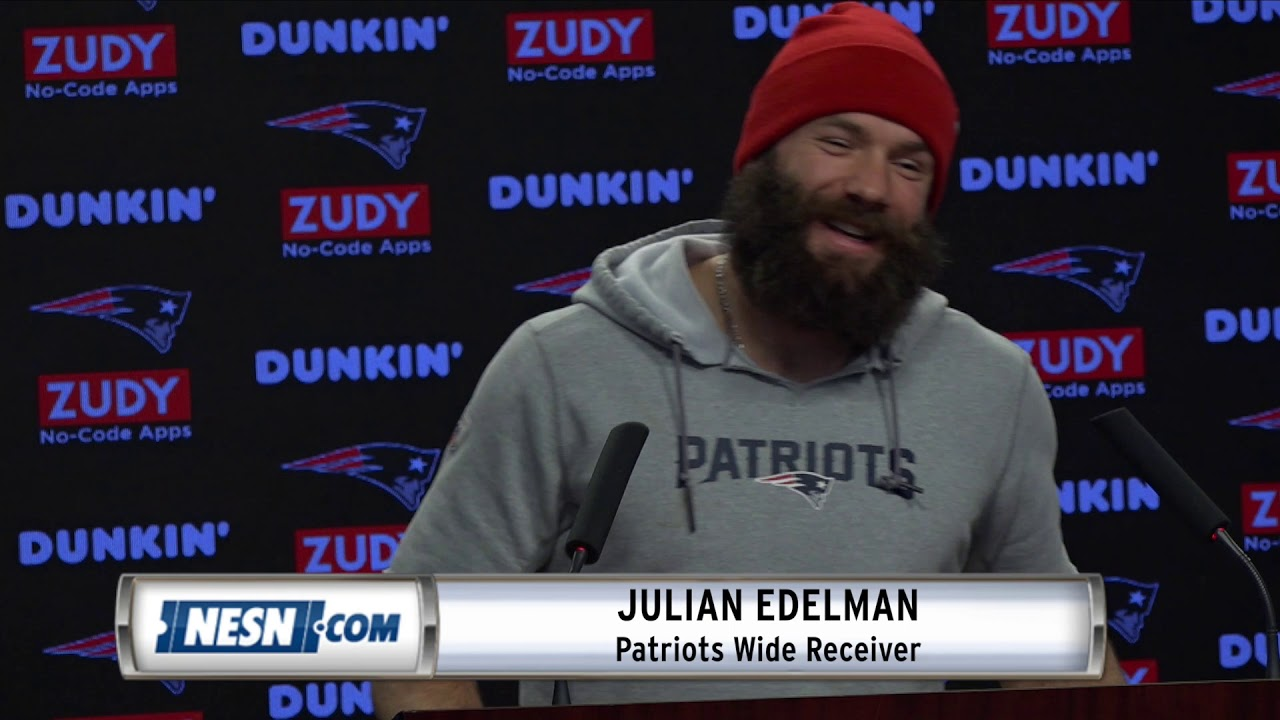 Julian Edelman Patriots Receiver Superbowl New England Hoodie