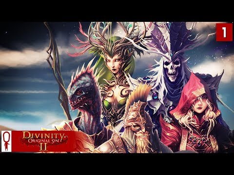Divinity Original Sin 2 Gameplay Part 1 - Undead Fane, The P