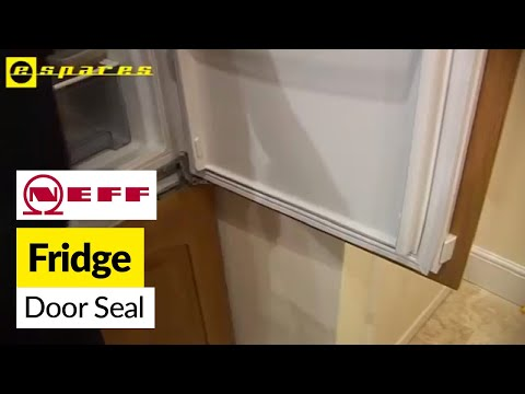 How to replace a fridge door seal on a Neff fridge