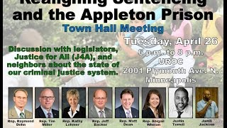 Town Hall on Sentencing And Appleton Prison