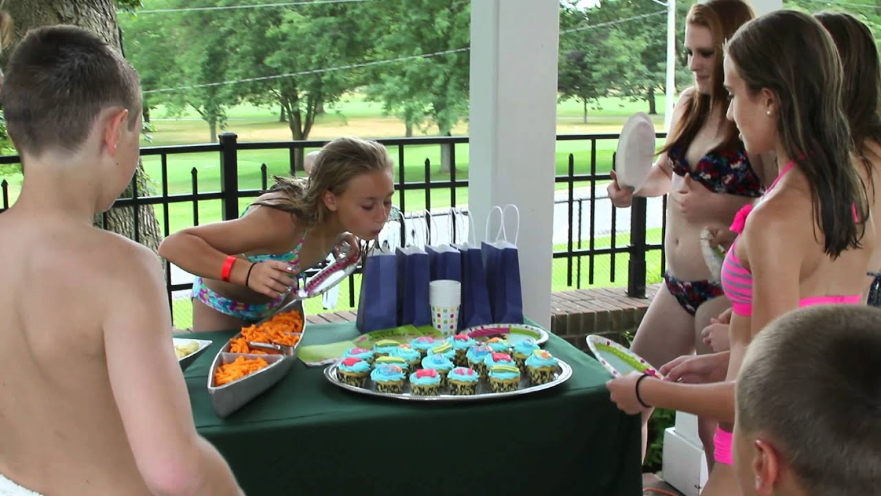cupcake pool party youtube