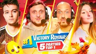 On enchaine les TOP 1 sur Fortnite avec Nikof et Kaatsup