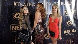 "Malika Abdraimova, Miranda Hamilton, Tiffany Lopez ""TEATRO LA"" Party Red Carpet"