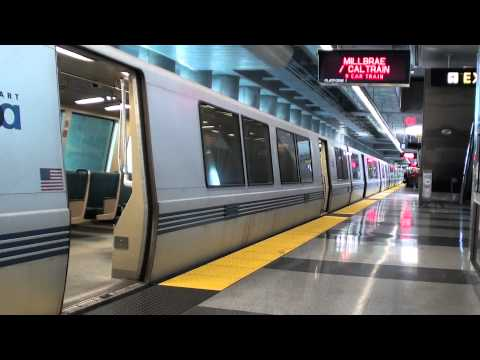 New Year's Eve On BART - The Rides & Station Arrivals (HD)