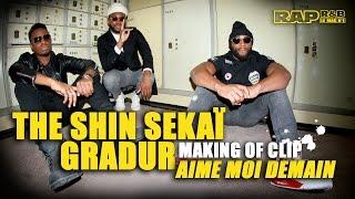 The Shin Sekaï & Gradur - Making of R.A.P. R&B du clip Aime moi demain