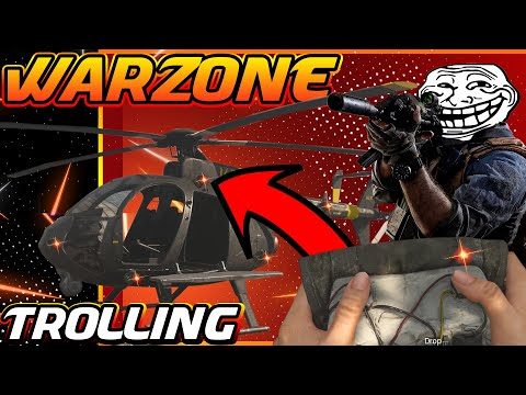 WarZone Trolling C4 TRAP : Call Of Duty- Funny Moments