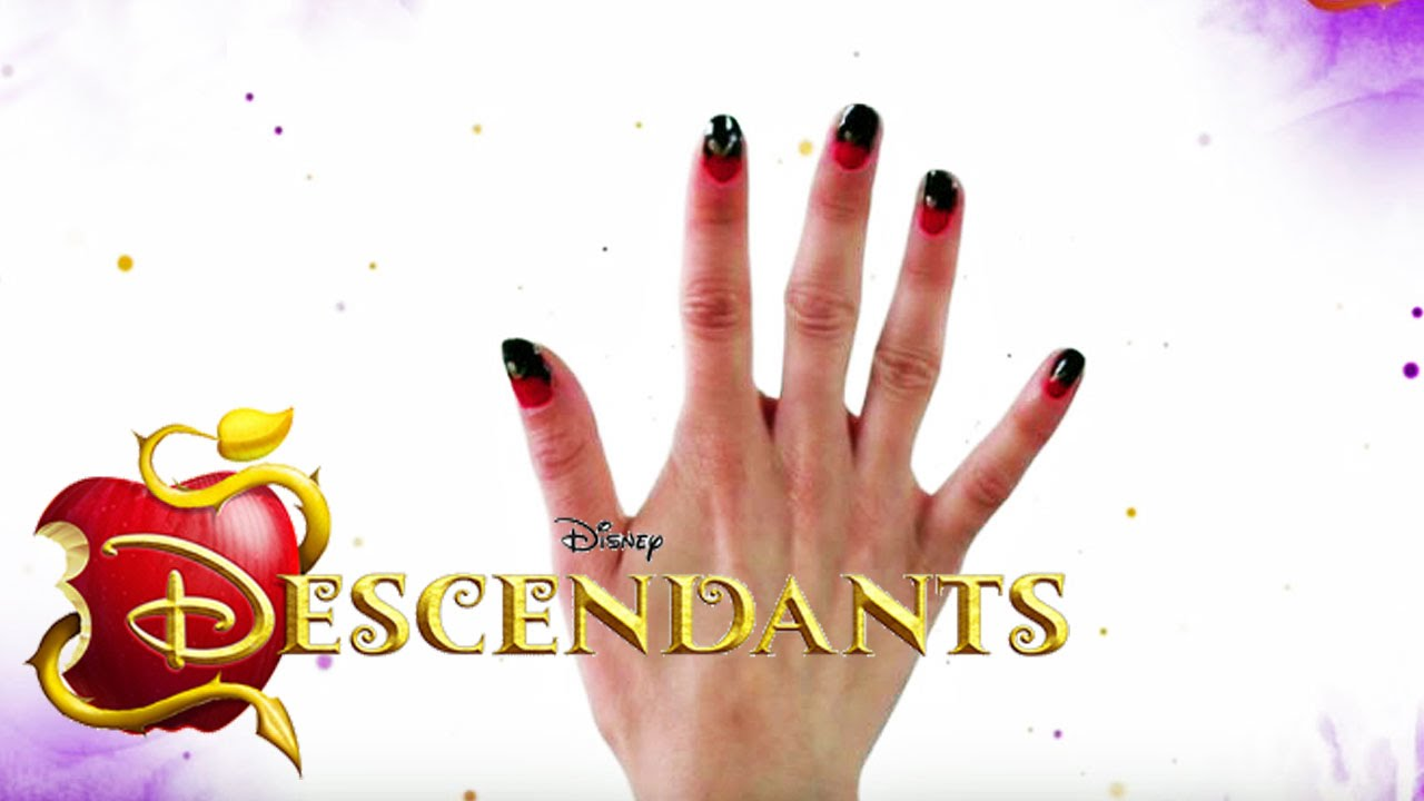 Disney\'s Nail Art - Evies Nagel-Look von The Descendants - DISNEY ...